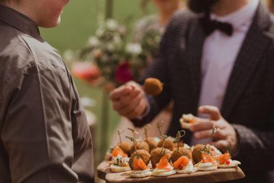 Wedding food platter