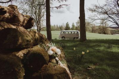 Wedding vw camper