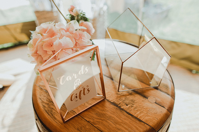 Wedding cards and gifts