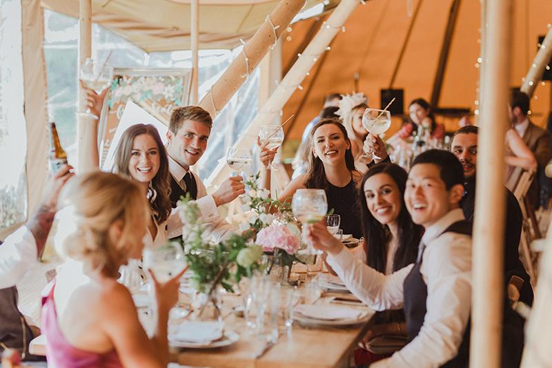 Hartree Estates wedding reception
