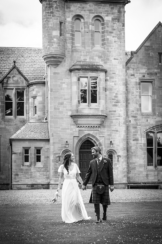 Wedding couple Hartree House