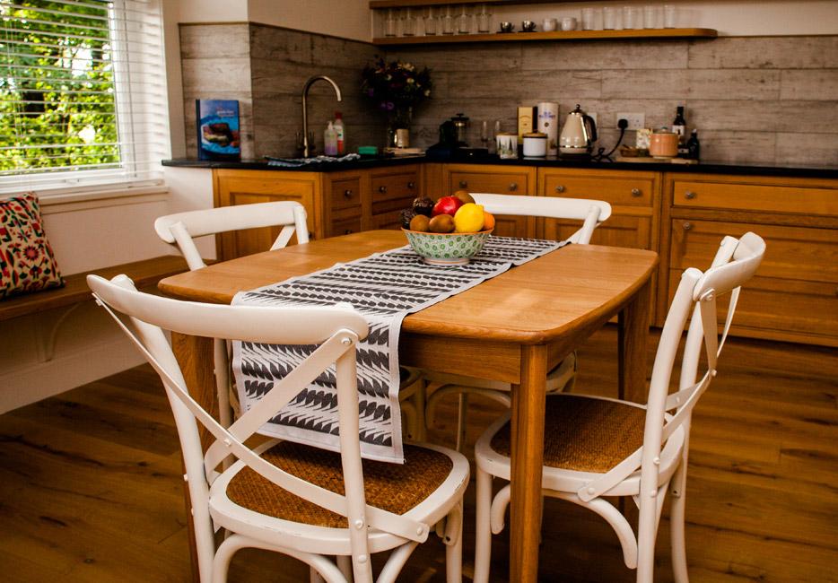 Lodge House Kitchen at Hartree Estates