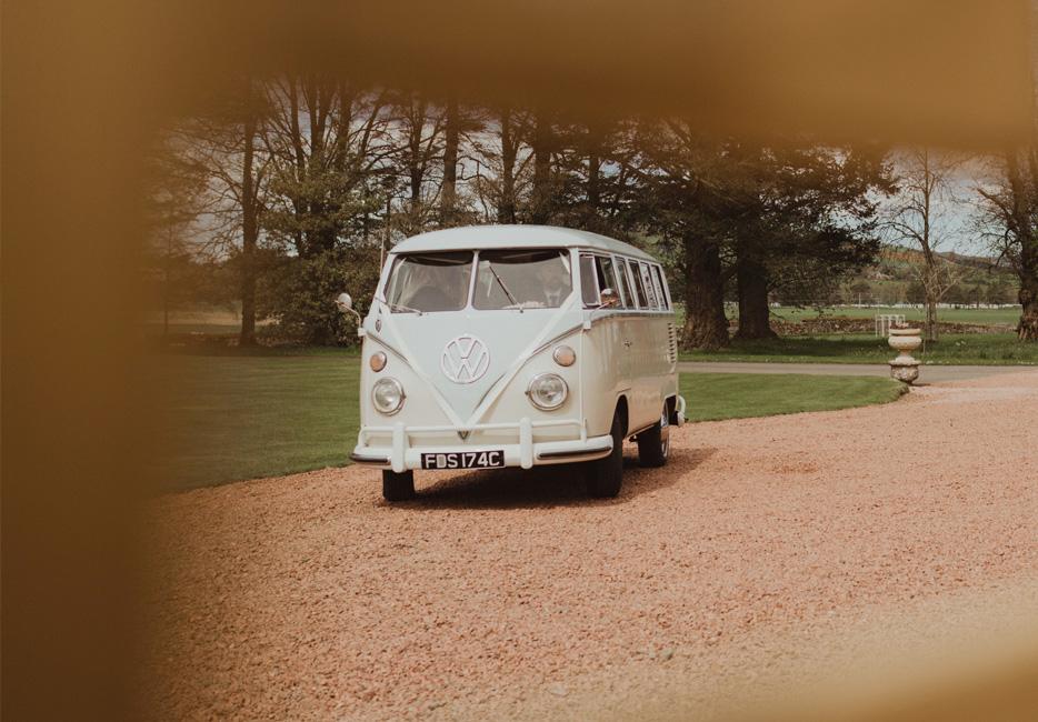 Wedding VW Camper Van