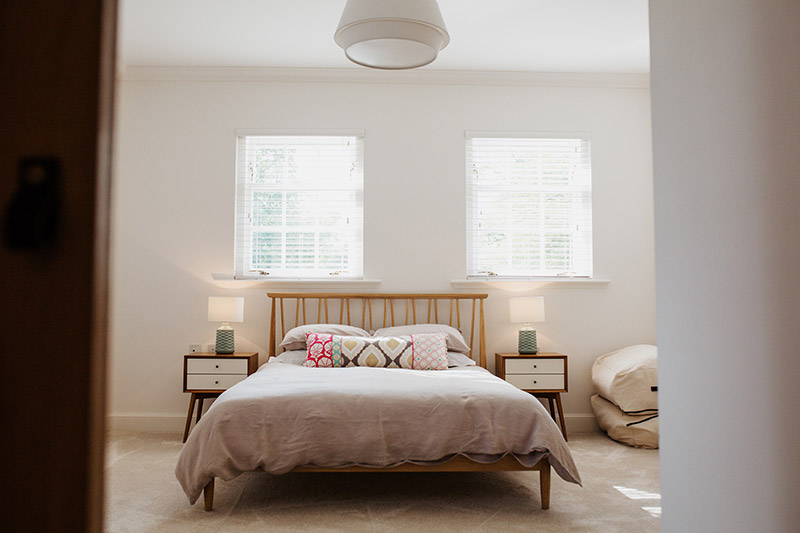 Bedroom at Hartree Holidays