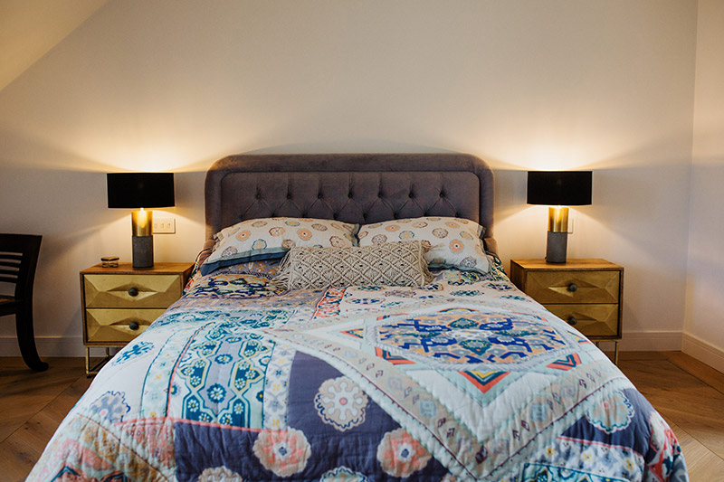 Double bed accommodation