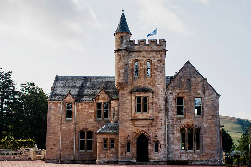 Front of Hartree House