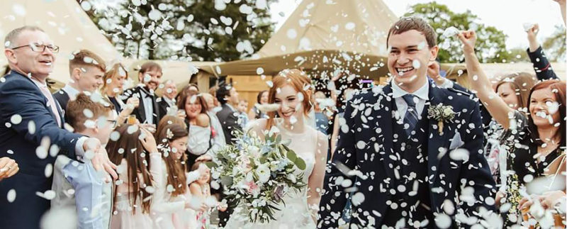 Tipi Wedding at Hartree Estates