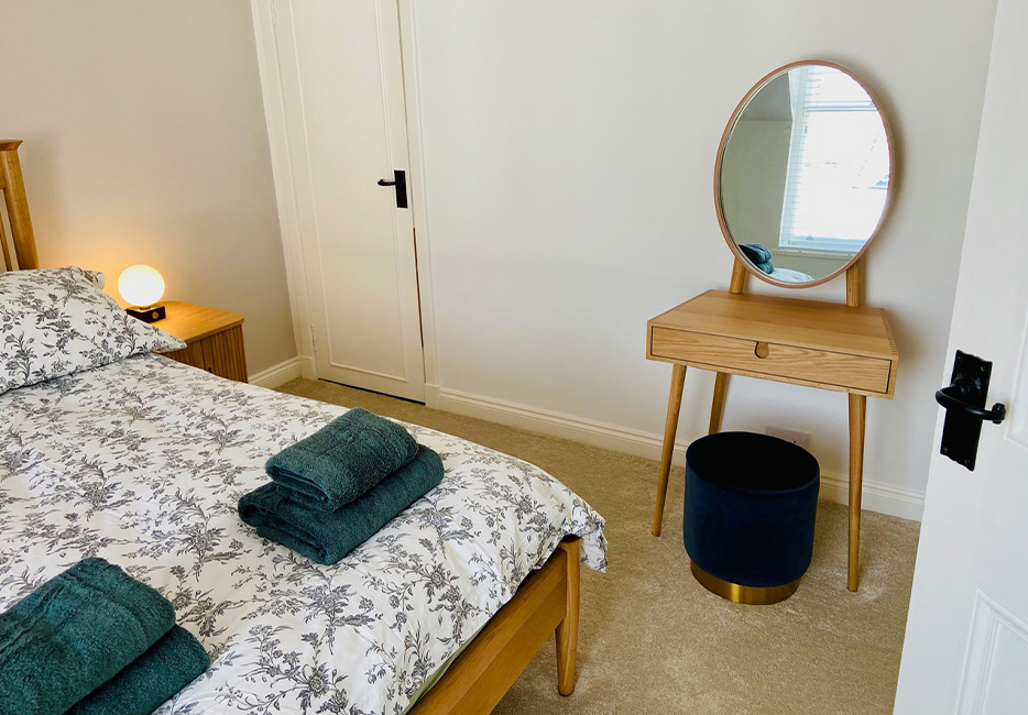 Double bedroom in the Penthouse at Hartree Estates